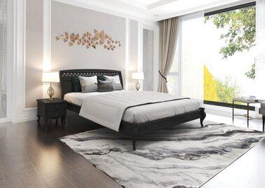 Кровать  Дублин декор (Ольха) ArtWood