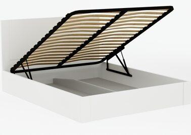 Кровать Милан с подъёмным механизмом (Орех)