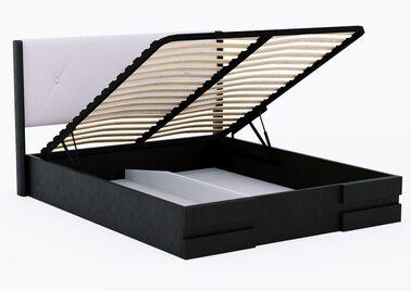Кровать Сиена с подъёмным механизмом (Орех)