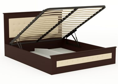 Кровать Валенсия с подъёмным механизмом (Ольха)